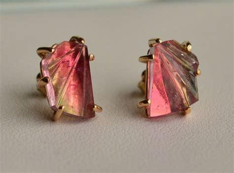 Handmade Jewelry Maine - maine tourmaline handmade in maine harvest gold jewelry