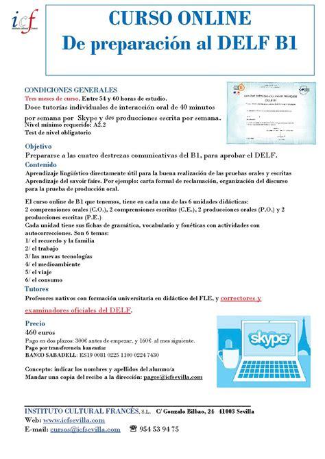 Resume Format And Example by Delf B1 Los Ex 225 Menes Delf Dalf En Sevilla