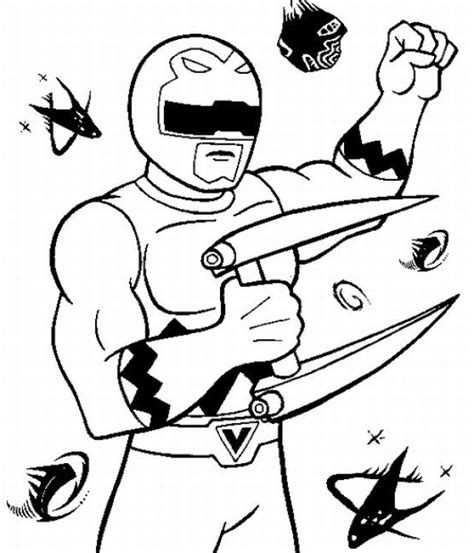 green power ranger dino thunder coloring sheets printable