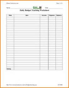 Daily Budget Template 8 daily budget template budget template