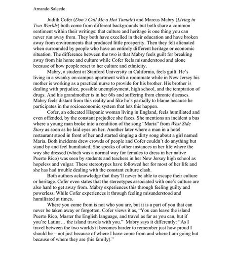 Compare And Contrast Essay Layout by Therightwrite Compare Contrast Essays