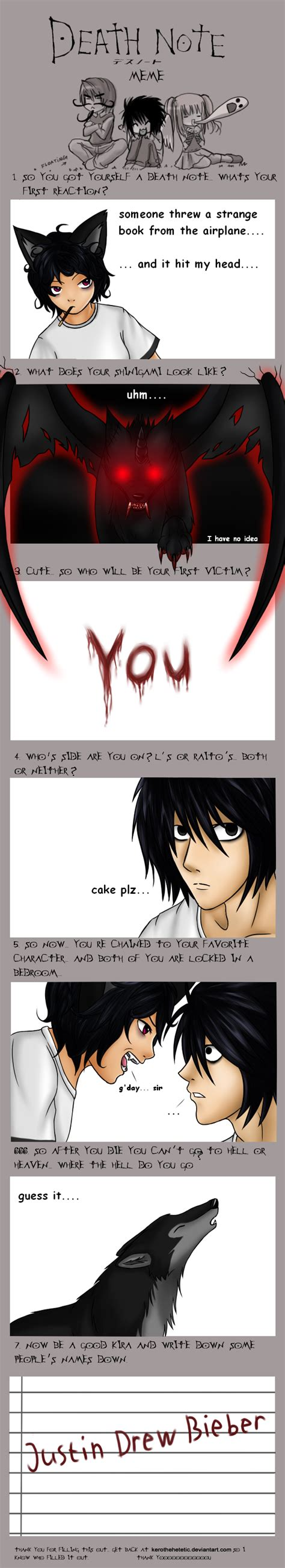 Memes About Death - death note meme by zerieleany on deviantart