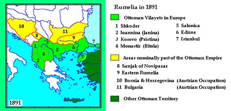 Ottoman Empire Sts Eastern Rumelia