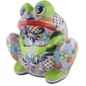 talavera planters collection talavera frog planter tp035