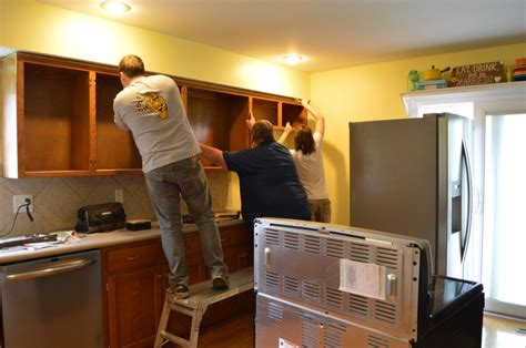 how to demo kitchen cabinets how to survive a kitchen renovation loving here