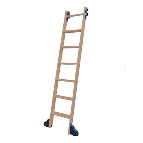 library ladders quiet glide library ladder unassembled unfinished van