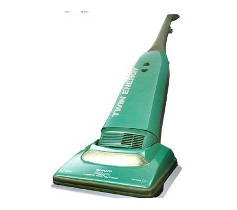 Vacuum Cleaner Sharp Ec8304 sharp energy upright vacuum cleaner green qvc