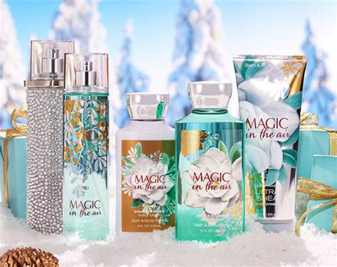 Lotion Bath And Works Magic In The Air bath works magic in the air fragrance collection