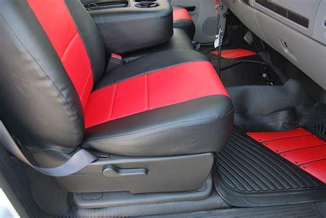 2007 silverado leather seat covers chevy silverado 2007 2012 iggee s leather custom seat