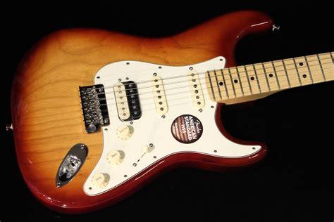 Fender Usa American Standard Stratocaster Hss fender american standard stratocaster hss shawbucker sunburst sn us15097780 gino guitars