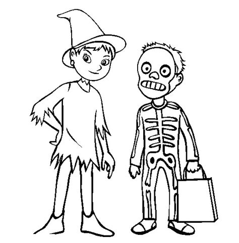 coloring pages of halloween costumes costumes halloween coloring pictures