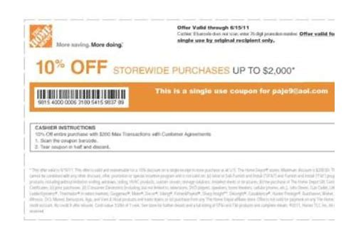 10 off home depot moving printable coupon