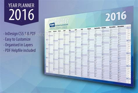 printable wall planner 2016 get ready for 2016 with printable monthly calendar and