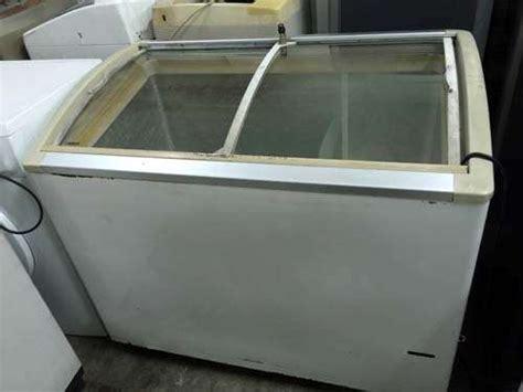 Freezer Sliding Second freezer sliding glass door box peti ais beku refurbish