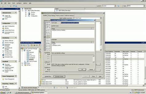 antivirus pattern update configing regular scheduled landesk antivirus definition