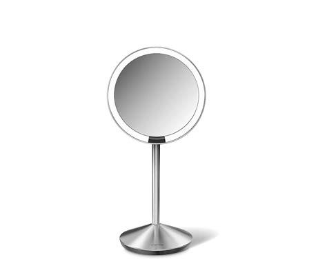 Illuminated Usb Burner by Simplehuman 5 Inch Mini Sensor Mirror Lighted Makeup