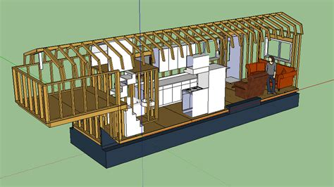 tiny house plans on trailer the updated layout tiny house fat crunchy