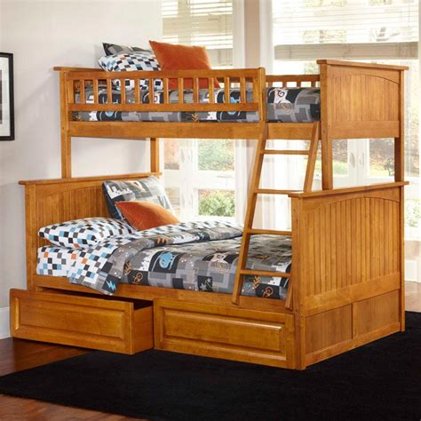raised twin bed nantucket twin over full bunk bed w drawers raised
