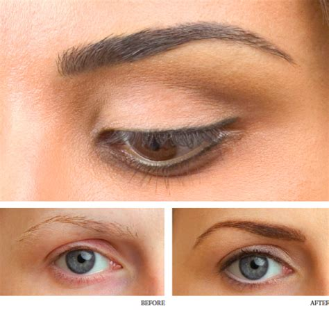 semi permanent eyebrow tattoo with semi permanent eyebrows images