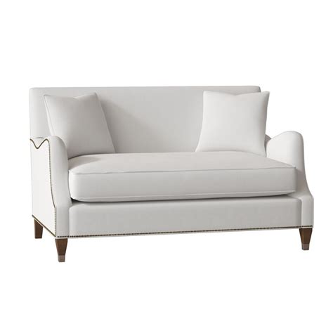 gabby lincoln  recessed arm sofa fabric french twill