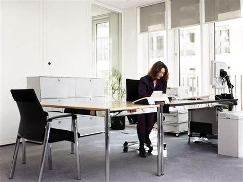 Usm Desk by Usm Haller Individual Workstation Table Height Adjustable Office Desk By Usm Modular Furniture