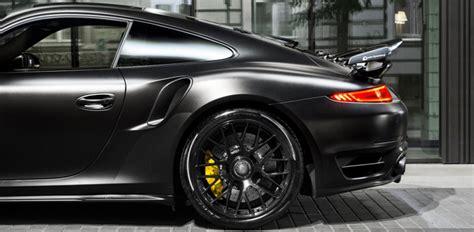 designboom porsche porsche 911 turbo s project dark knight by auto dynamics