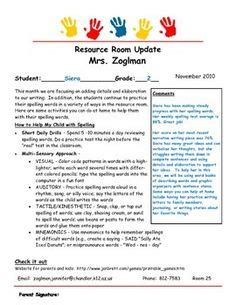 Pin By Amy Sley On Teacher Secrets Pinterest Special Education Newsletter Template