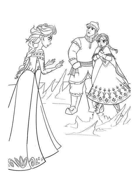 Disney Frozen Coloring Pages To Print Coloringstar Printable Coloring Pages For Frozen Free