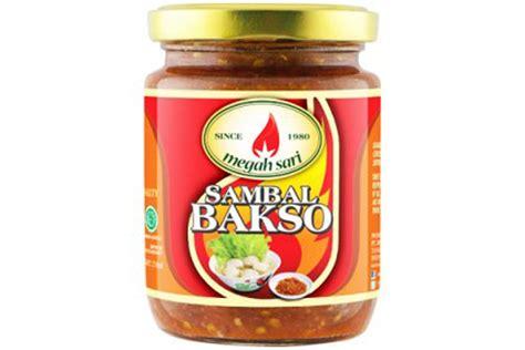 Sambal Terasi Megah Sari sambal bakso meatball chili sauce original 8 8oz s gallery