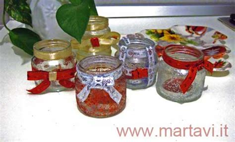 materiale per candele mammachebrava natale portacandele fai da te
