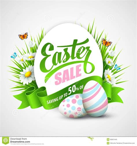 posters for easter easter poster vector illustration stock vector