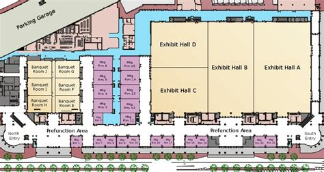 exhibition centre layout area specifications