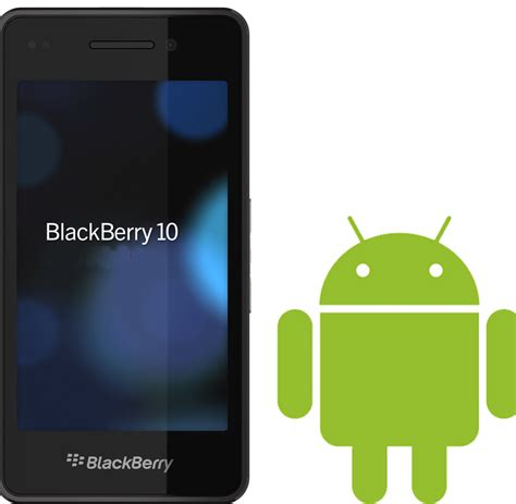 z for android blackberry z10 will support android 4 1 apps soon goandroid