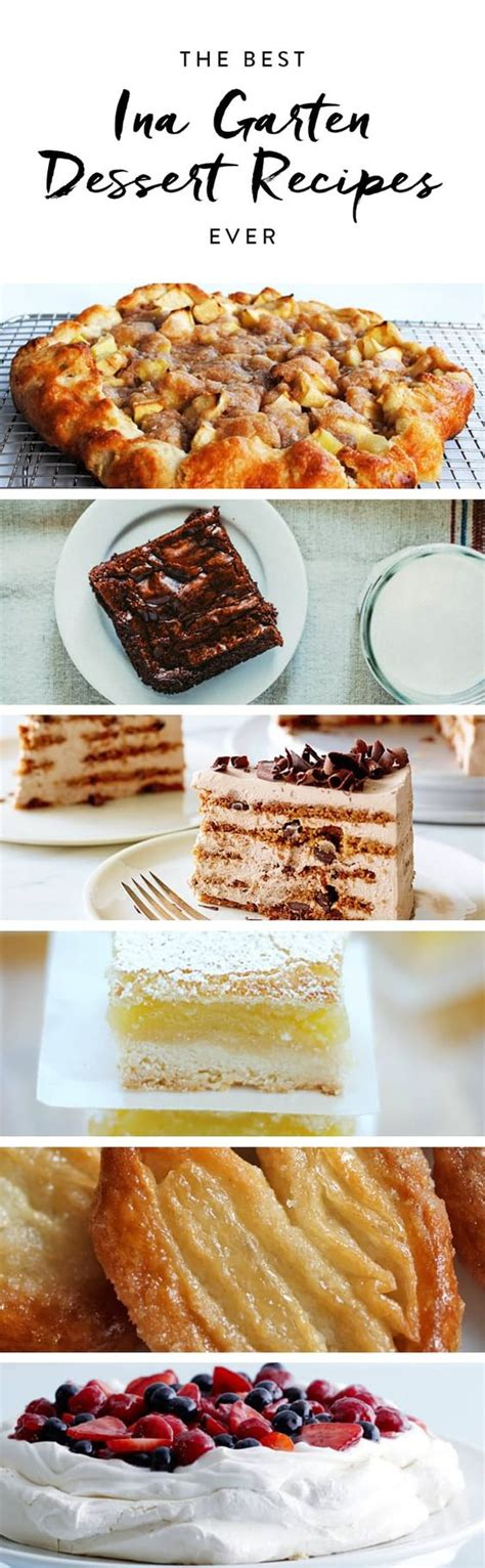 ina garten best desserts the best ina garten dessert recipes ever