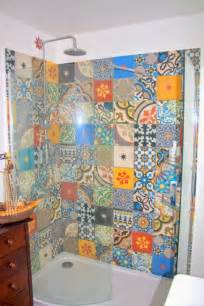 Moroccan Wall Stickers patchwork tiles in your home