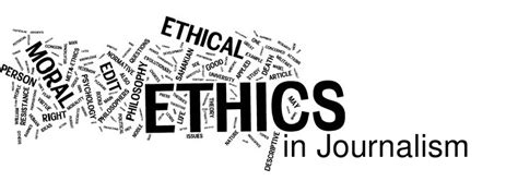 Journalism Ethics by Paulinek7
