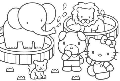 Hello Kitty Coloring Pages 17 Coloring Kids Coloring Pages Hello