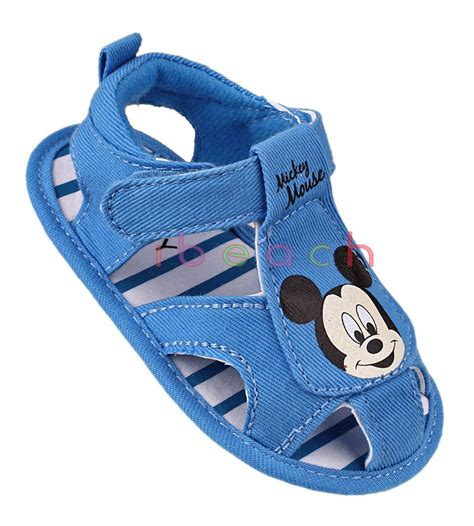 Mickey Blue Slipper Sandals infant boy sandals 28 images buy 21 25 size children s