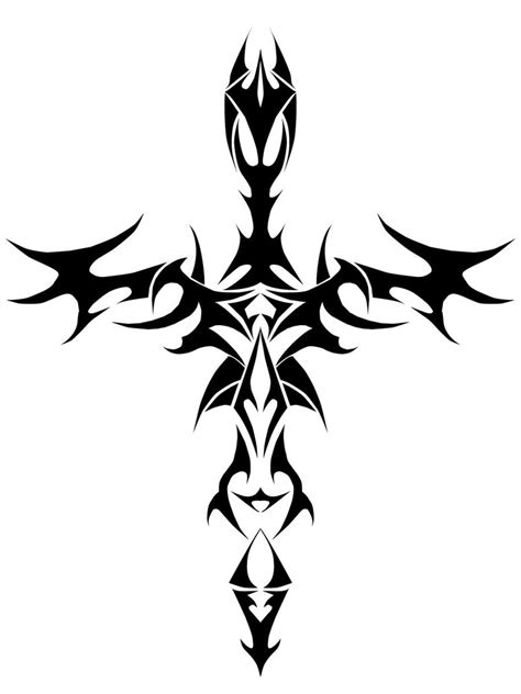 cross drawings clipart best