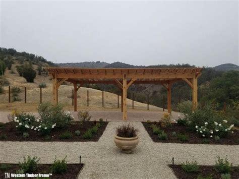 Western Cedar Pergola Kit Wood Desert Blossoms W Cedar Diy Pergola Kit Western Timber Frame