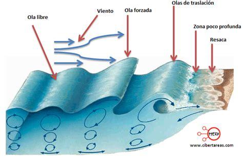 olas oscilacion y traslacion movimientos de aguas oce 225 nicas geograf 237 a cibertareas