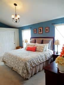 Coral Bedroom Ideas Blue And Coral Master Bedroom Decor For The Home Pinterest