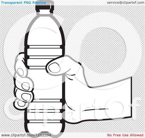 black and white chagne bottle clipart water bottle plastic black and white www imgkid com