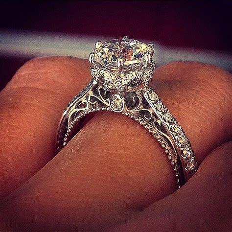 Wedding Rings Verragio by 17 Best Ideas About Vintage Engagement Rings On