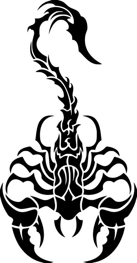 SVG > tribal Scorpion or - Image et icône SVG gratuite