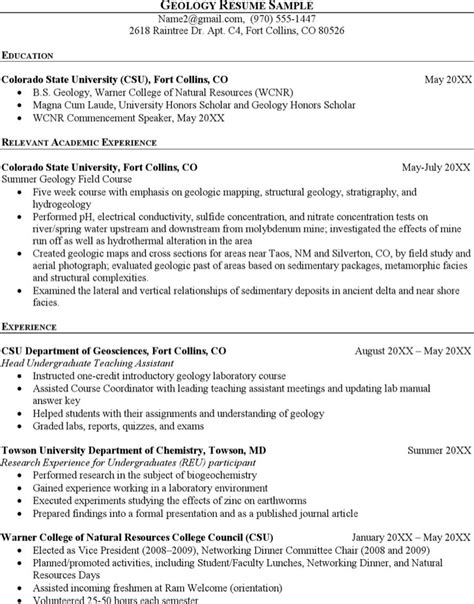 Geology Resume Exles by Geologist Resume Templates Free Premium Templates Forms Sles For Jpeg Png
