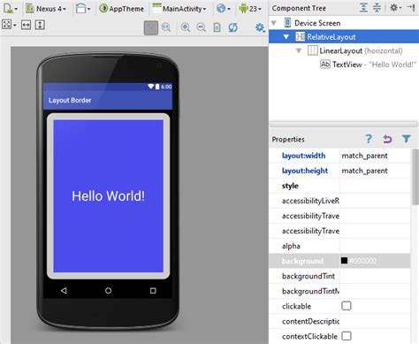 xamarin layout border add a border to an android layout tek eye