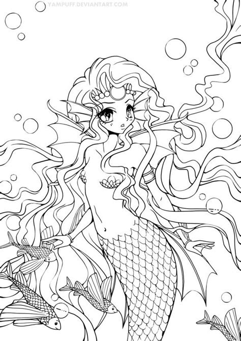 chibi mermaid lineart by kaitoucoon on deviantart mermaid princess lineart by yampuff deviantart com on