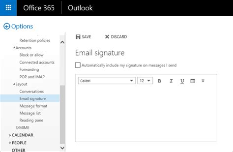 Office 365 Mail Change Signature Office 365 Email Signatures Bettercloud