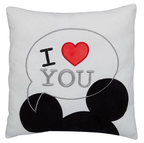 loyal plush disney love mickey mouse cushion size